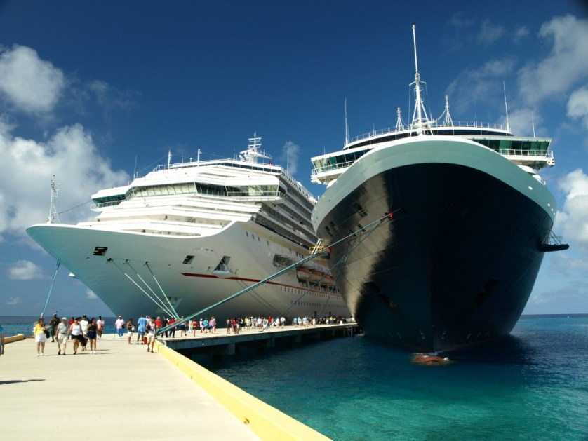 Two ships at Grand Turk Image courtesy of sxc.hu