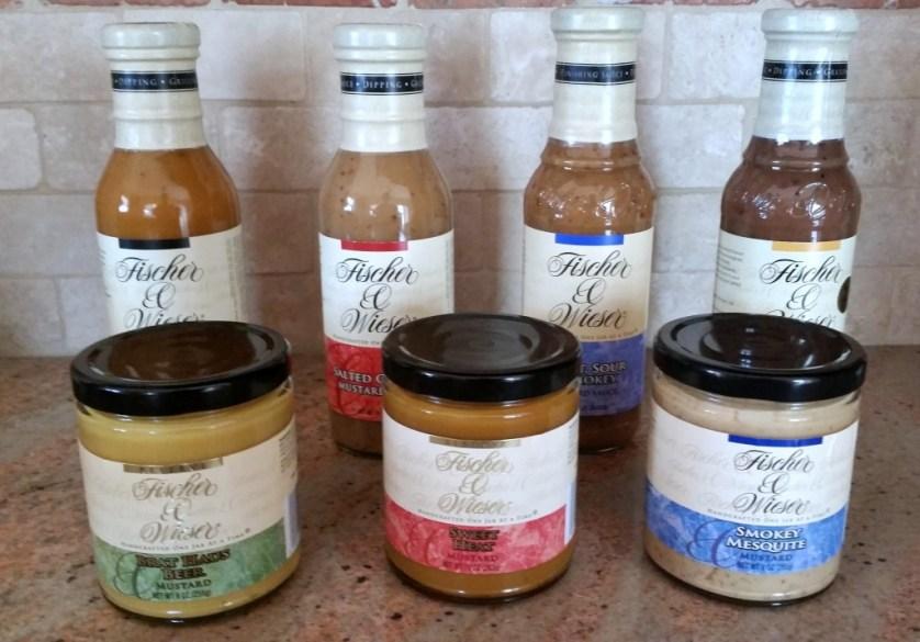 Fischer & Wieser Mustards and Mustard Sauces