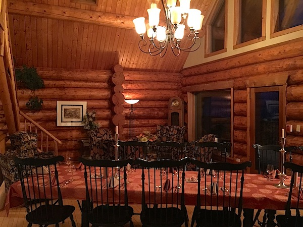 Welcoming dining room at Inn on the Lake