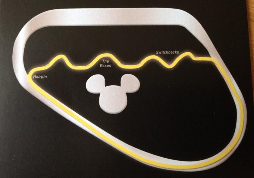 Disney Speedway Course