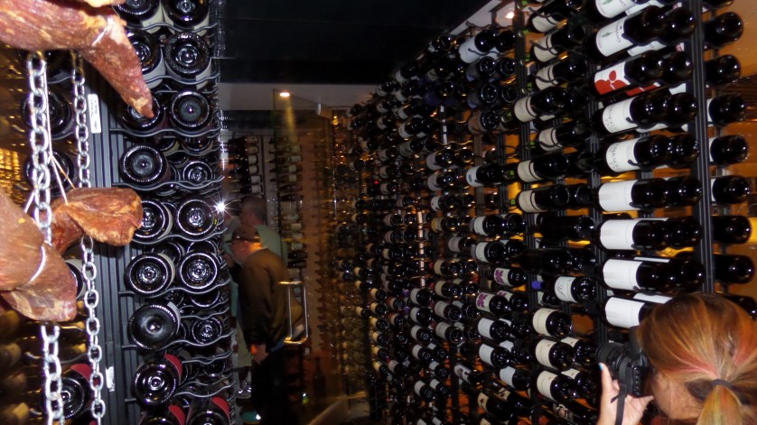 Route 246 offers extensive wine selections for superior foods.