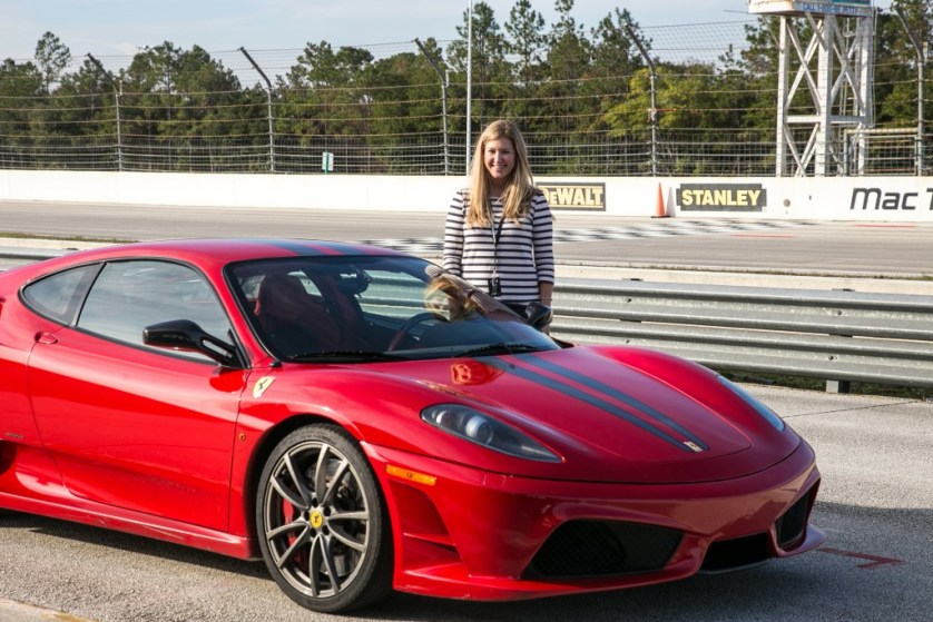 Laura and Ferrari