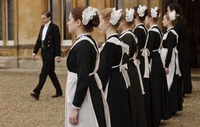 Maids in afternoon & evening dress. (Photo courtesy of PBS)