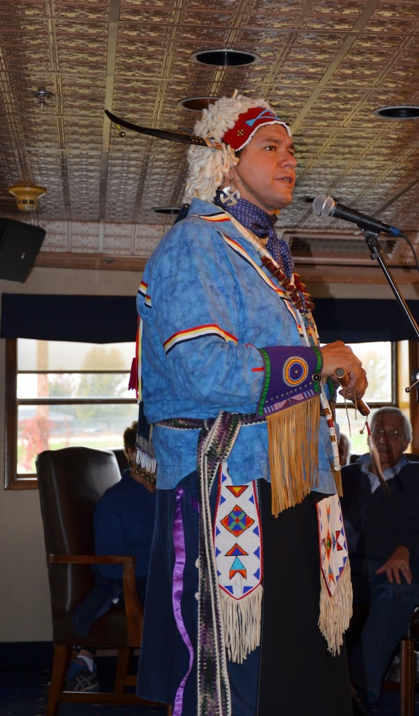 Nez Perce presenter.