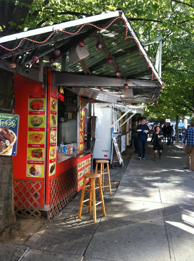Just a few of the Portland Food Carts.
