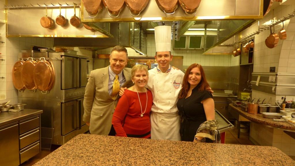 Chef Herve Laurent, Maralyn D. Hill, Sherrie Wilkolaski