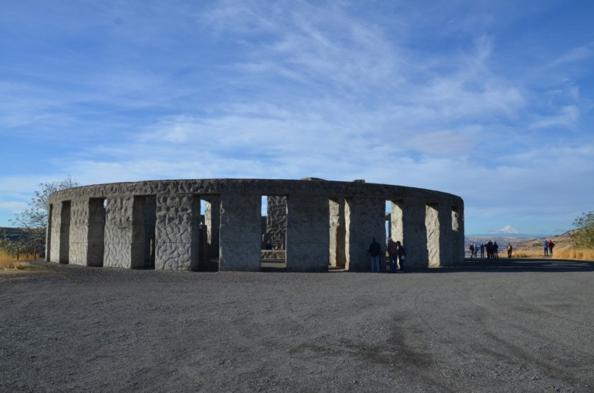 Replica of Stonehenge.