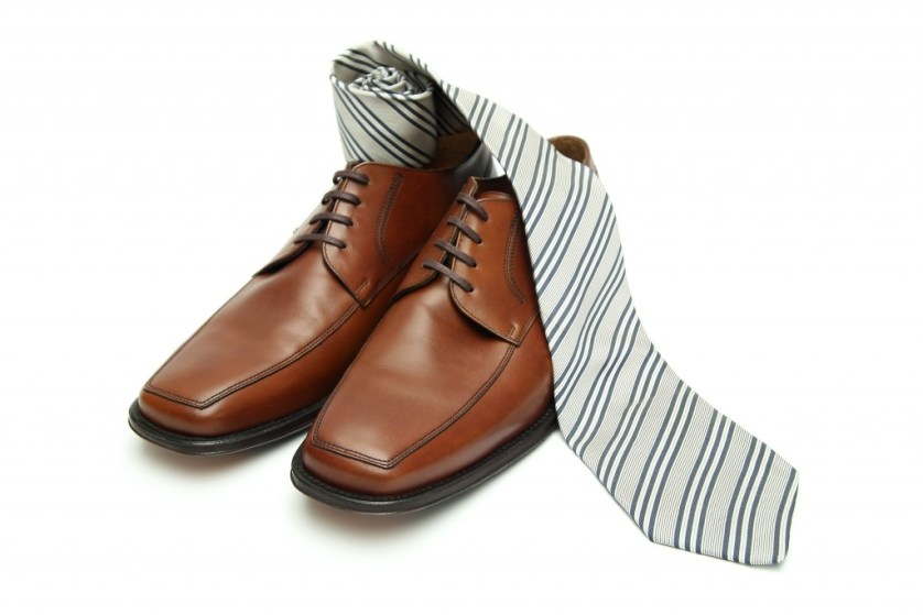 Men's Shoes and Tie