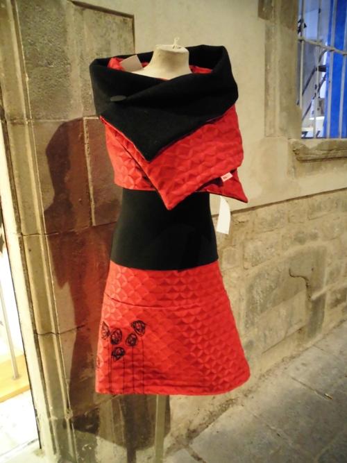 Designer dress Gothic Quarter/Barcelona