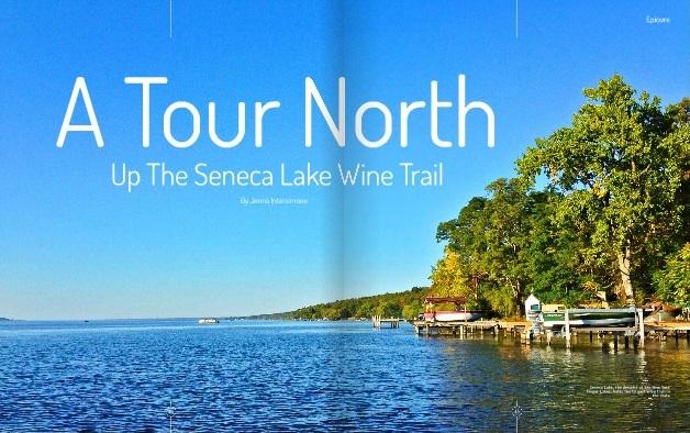 A Tour North Up the Seneca Lake Wine Trail by Jenna Intersimone