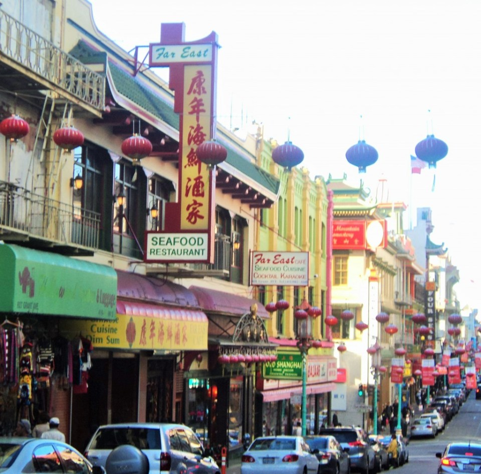 Shopping in Chinatown