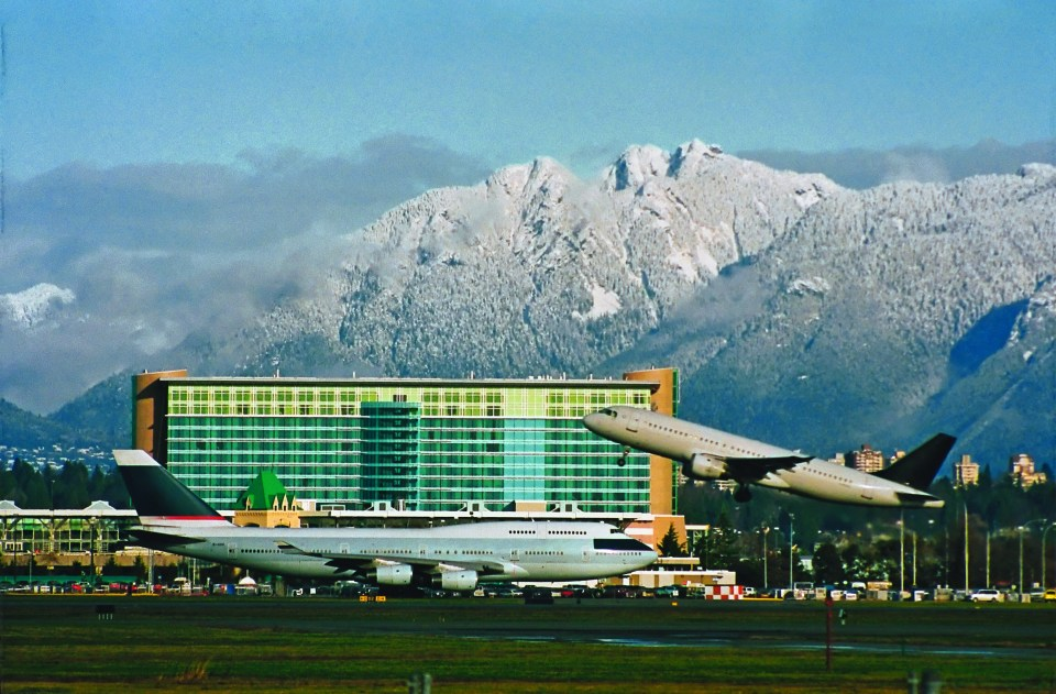 Fairmont Vancouver Airport. Photo courtesy Fairmont Hotels