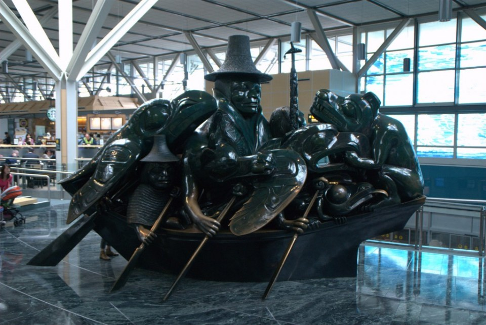 Jade Artwork at YVR by Ed Bierman