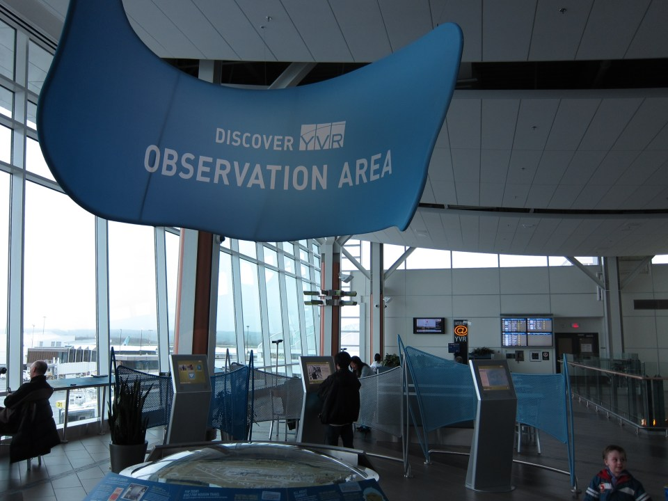 YVR Observation Area by GoToVan