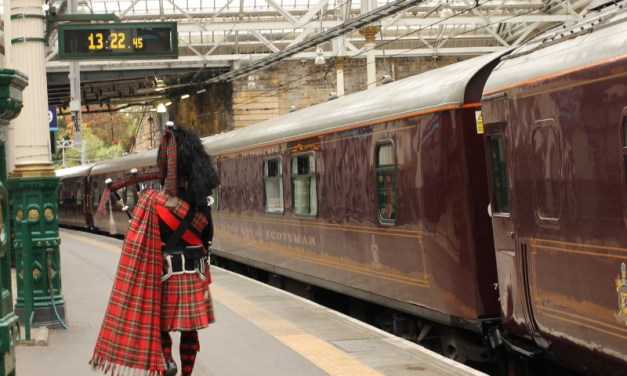 The Highlands Aboard the Royal Scotsman