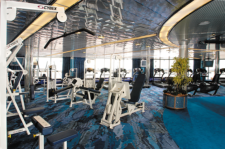 Fitness Center, ms Oosterdam