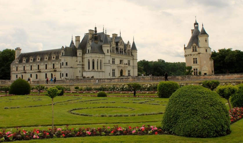 The lovely Chenonceau Castle
