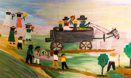 Clementine Hunter Murals in Natchitoches, Louisiana