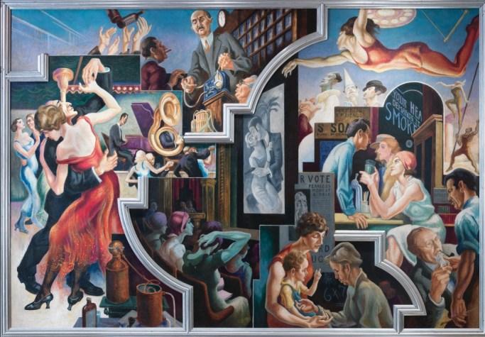 America Today mural