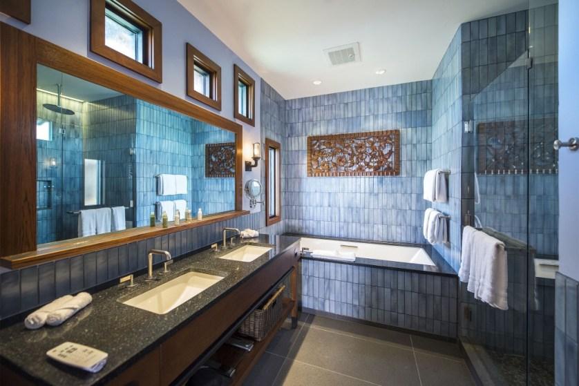Disney Bungalow Master Bathroom  (Matt Stroshane, photographer)