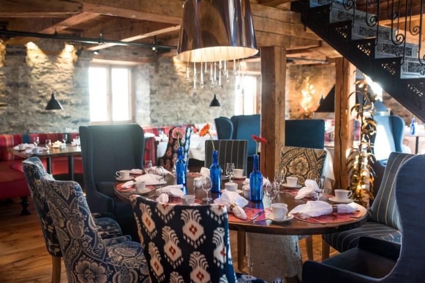 Panache Restaurant (Photo courtesy of Auberge Saint-Antoine)
