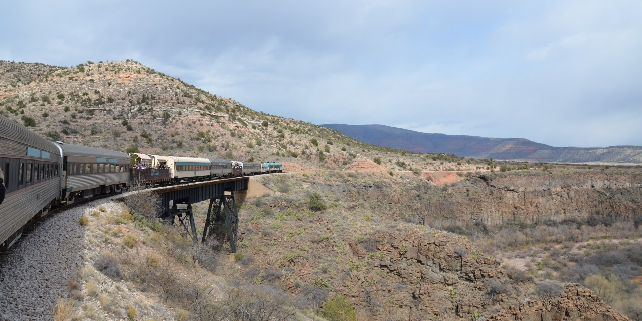 A Scenic Trip on the Verde Canyon Railroad