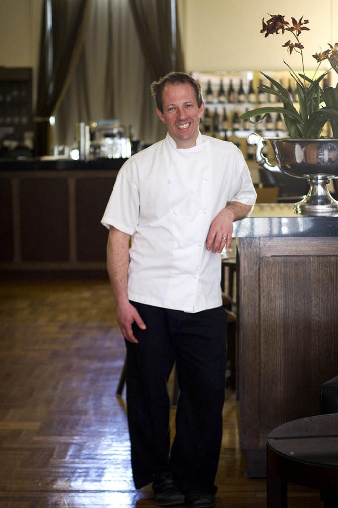 Chef Damien Jones of Lydiard in Ballarat