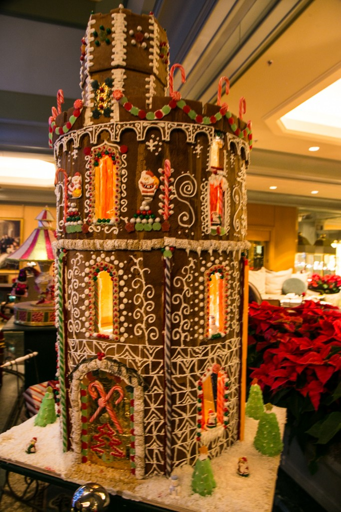 Gingerbread House displayed at High Tea.