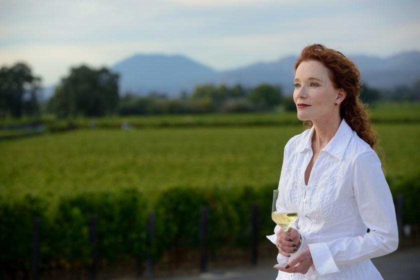Karen MacNeil vineyard - credit Lowell Downeyw wine bible