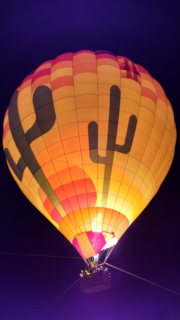 The Bolders - Lillian African hot air balloon