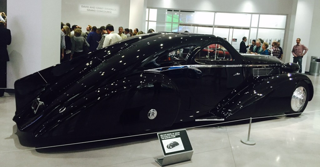(Photo by Jill Weinlein) Petersen Auto Museum