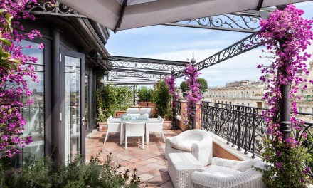 Rome's Hotel Baglioni: Fit for a Queen