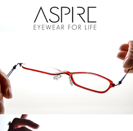 "Aspire–For ""Barely There"" Eyewear"