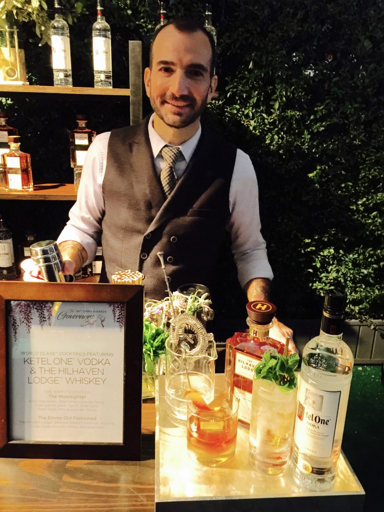 Mixologist Charles Joly - Photo by Jill Weinlein