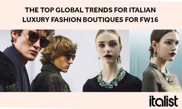 INFOGRAPHIC: Top Global Trends for Italian Luxury Fashion Boutiques