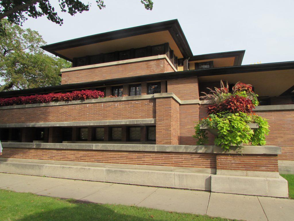 Robie House, Frank Lloyd Wright's Prairie style