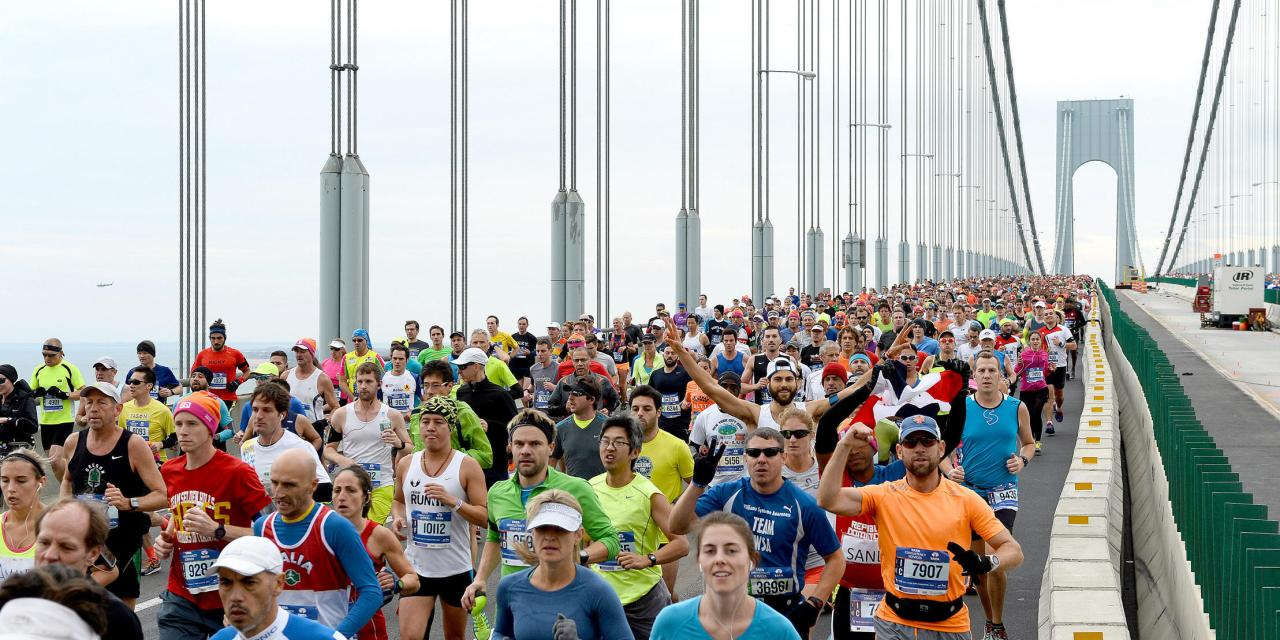 The TCS New York City Marathon: A Gorgeous Mosaic