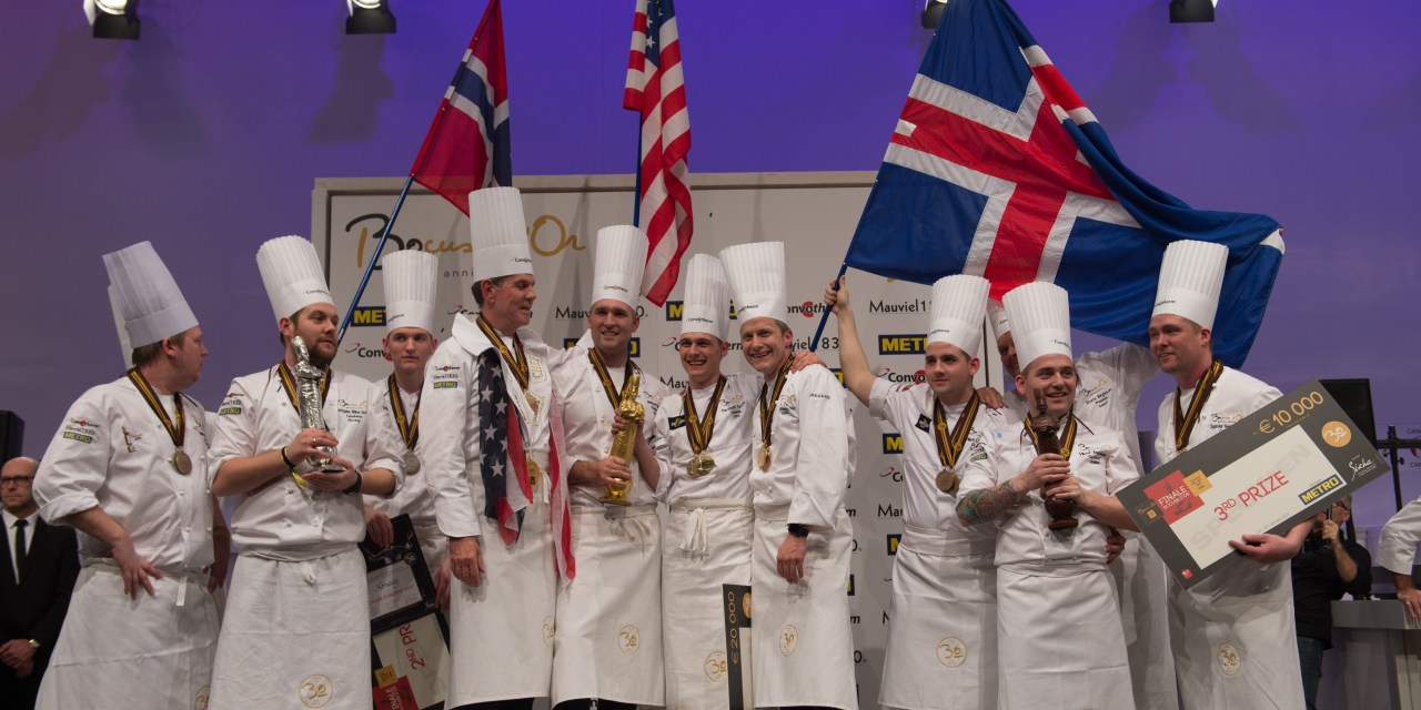 USA Wins the 30th Bocuse d'Or