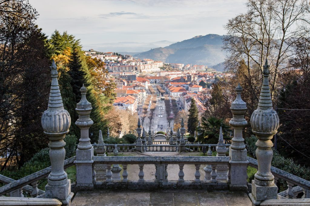 View over the town of Lamego.