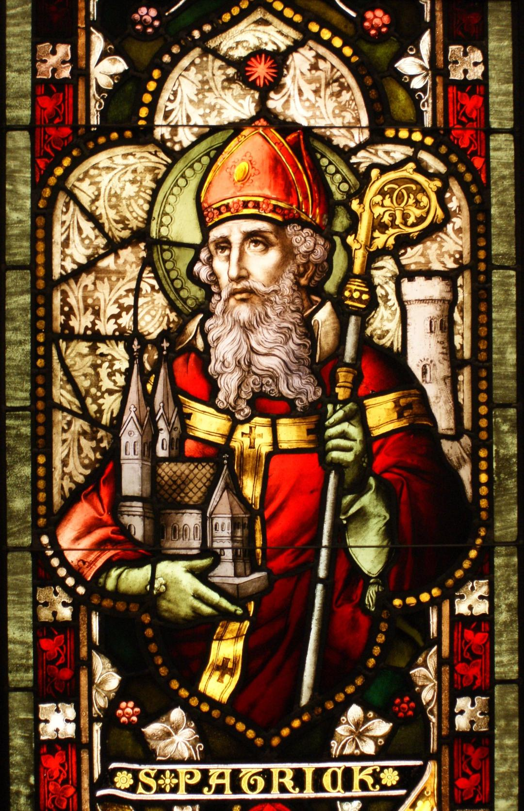 Saint_Patrick_(window) Sicarr - Flickr