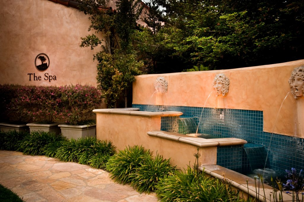 The Spa Exterior - Credit Pebble Beach Company