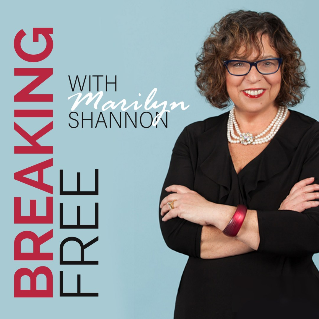 Breaking Free Show with Marilyn Shannon Logo Luxe Beat Radio Network