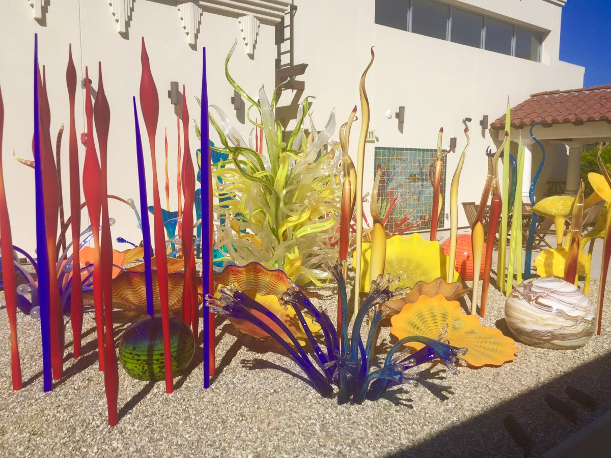 Chihuly Art at the Catalina Island Museum