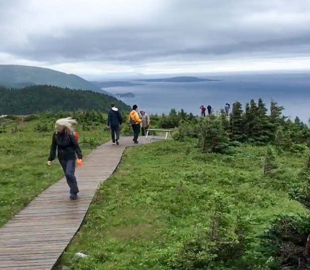 Skyline Trail on Cape Breton Island