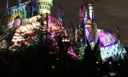 Christmas Harry Potter Style at Universal Studios Hollywood
