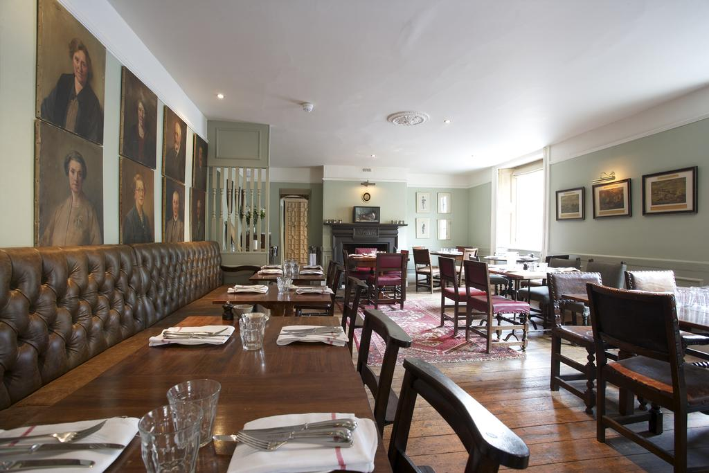 the wheatsheaf inn dining cotswolds