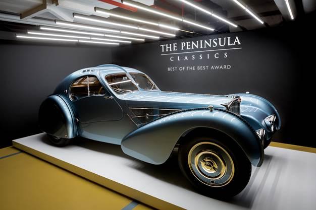 1936 Bugatti Type 57SC Coupé Atlantic Wins Third Annual The Peninsula Classics Best of the Best Award