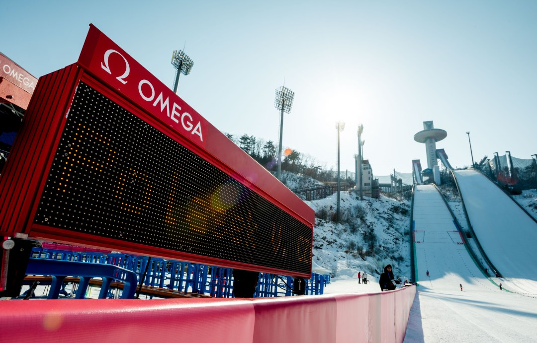 winter olympics score board