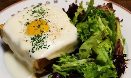 Bouchon Bakery & Cafe's Croque Madame