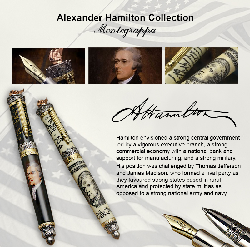 Alexander Hamilton limited edition writing instrument